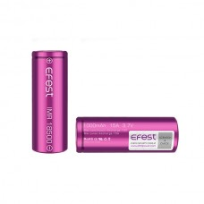 Efest Purple 18500 IMR 1000mAh - Flat Top