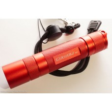Convoy S2+ Flashlight - Red - XM-L2 - 1x18650