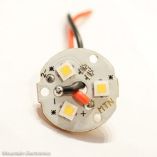(3) CREE XP-L High-Intensity U3 2700K 80+ CRI LEDs on MTN 3XP MCPCB