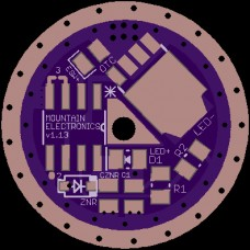 20mm Single-Sided FET Driver PCB - V1.13 - MTN-20DD