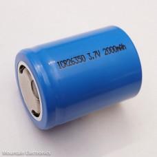 26350 2000mAh Battery