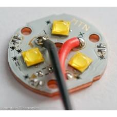 (3) CREE XP-G3 R2 3000K 90+ CRI LEDs on MTN 3XP COPPER MCPCB
