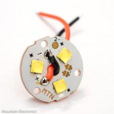 (3) CREE XP-L2 V5 5000K LEDs on MTN 3XP COPPER MCPCB