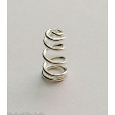 Nickel Plated Beryllium Copper Spring 8.5mm H x 6.5mm D